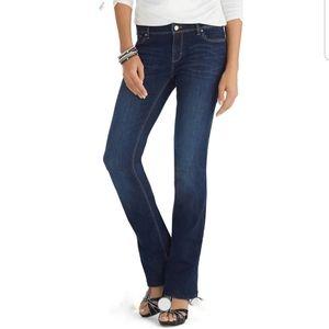 🌼White House Black Market Blanc Bootcut Jeans